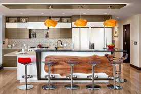 Maple Kitchen Island by Island Wrap Around