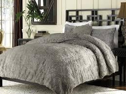 Faux Fur Comforter Set King Lynx Faux Fur Fullqueen Duvet Cover Set Faux Fur Duvet Cover Uk