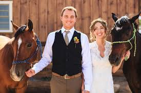 western wedding western wedding with chic rustic details