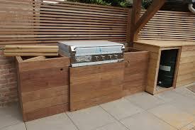 meuble cuisine d été espace repas arborescence paysage