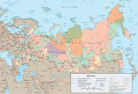 russia map map russia travel europe