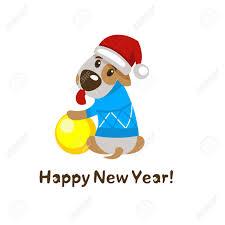 imagenes navidad 2018 graciosas feliz año nuevo y feliz navidad tarjeta de felicitación con