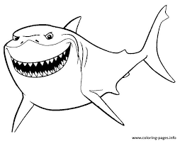 marlin finding nemo disney coloring pages printable