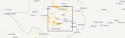 killeen map hail map for killeen tx saturday april 18 2015