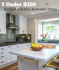 kitchen remodeling ideas on a budget kitchen renovation on a budget cheap kitchen remodel ideas about
