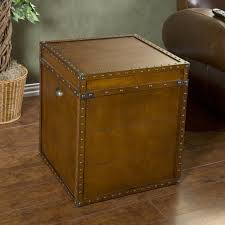 furniture trunk end tables rustic side tables trunk side table