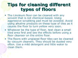 floor covering in housekeeping