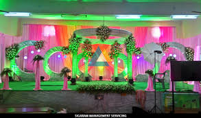 Marriage Home Decoration Wedding U0026 Reception Decorators In Pondicherry Chennai Tamilnadu