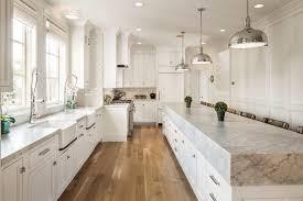 Sink In Kitchen Island Carrera Countertops Transitional Kitchen Benjamin