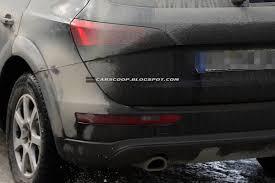 Audi Q5 Facelift - digitus impudicus our spies spot the audi q5 facelift again test