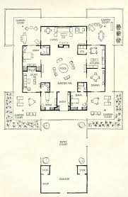 Mid Century Floor Plans 4540 Best Mid Century Images On Pinterest Vintage Houses Mid