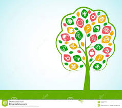 tree of knowledge concept stock vector image 39802777