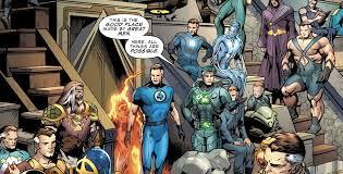 fantastic u0027 comic book storylines reboot