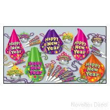 new years party packs 42nd new years pack for 25 christmas new