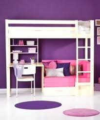 Bunk Bed With Desk And Cushion Space Underneath I Like This For - Girls bunk bed with desk