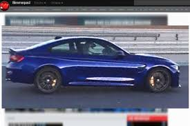 bmw m4 cs 2018 prise en photos sans camouflage