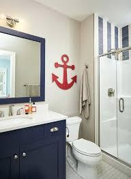Navy And White Bathroom Ideas Navy Blue Bathroom Decor Simpletask Club