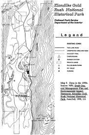 klondike gold rush nhp legacy of the gold rush an administrative