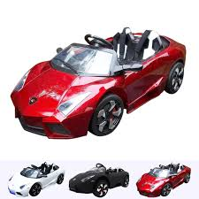 toy lamborghini kids lamborghini aventador style electric ride on car 12v remote