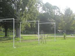 backyard ideas awesome backyard batting cages driving