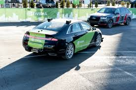 self driving car taking a ride in nvidia u0027s self driving car ars technica