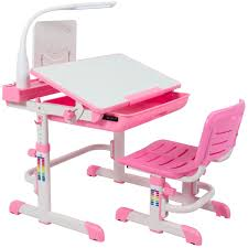 kids desk and chair set best choice products height adjustable children s desk and chair set