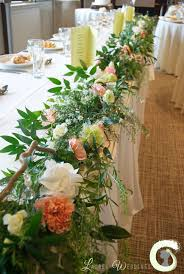 85 best table garland images on centerpieces wedding