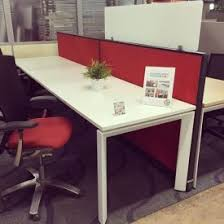 Used Office Furniture Fort Lauderdale by Re Manufactured Workstations With Used Office Benching In Palm