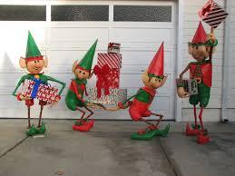 santa u0027s elves yard display 7 steps with pictures