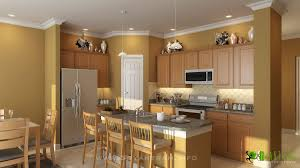 architectural kitchen designs modern 3d kitchen design view yantram architectural design