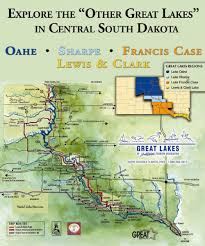 Map South Dakota South Dakota Missouri River Tourism Camping U0026 Campgrounds In