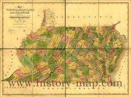 Virginia Map Counties by Old Map Of Virginia