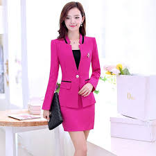 best quality fashion high quality slim lady career suits women