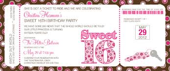 boarding pass invitations sweet 16 boarding pass invitations by noteworthy collections