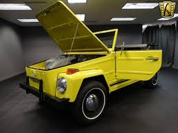 1974 volkswagen thing 1973 volkswagen thing 12054 miles yellow convertible 1640 cc 4