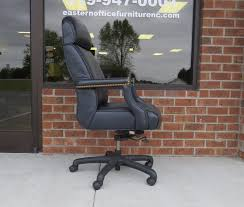 Used Office Furniture Hickory Nc by Executive High Back Chair By Hickory Leather Co Eastern Office