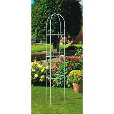 wilko garden obelisk silvergarden metal argos trellis satuska co