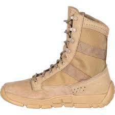 light brown combat boots rocky military boots c4t trainer tactical military boot army boot