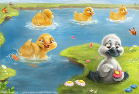 ugly duckling lessons tes teach