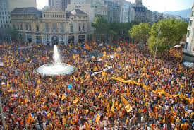 catalonia u0027s independence rally in barcelona gathers 1 5 million people