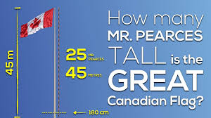 How Tall Is A Flag Pole The Great Canadian Flag 3 Act Math Canada150math Challenge