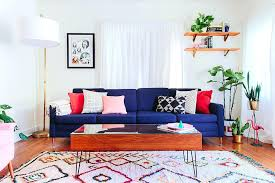 deep blue velvet sofa blue couch living room view in gallery deep blue sofa fills the