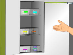 Organzie by How To Organize Bathroom Cabinets 7 Steps With Pictures