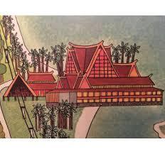 Disney World Hotels Map by Rare Original 1971 Walt Disney World Map Wall Art From Polynesian