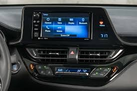 usa spec toyota bluetooth interface 2018 toyota c hr reviews and rating motor trend
