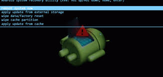 reboot android how to reboot android mobile in recovery mode