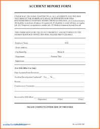 report form template incident hazard report form template new sle incident report