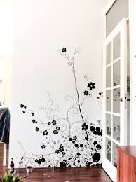 wall ideas black wall paint design black and white bedroom wall