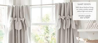 Green Nursery Curtains Bright And Modern Nursery Curtains Rugs Pottery Barn