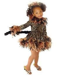 Girls Cheetah Halloween Costume Toddler Girls Precious Leopard Costume Attached Tail